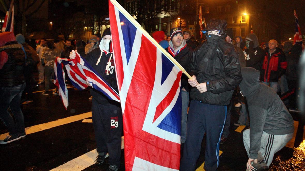 Protesty v Belfastu