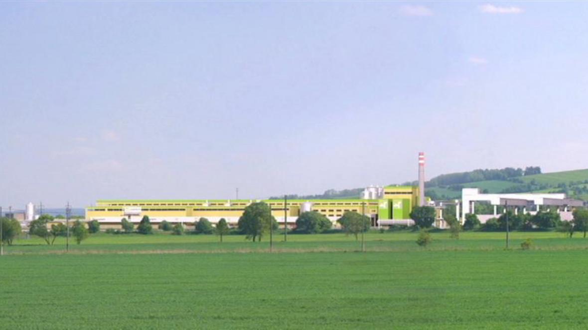 Vizualizace papírny a energetického zdroje v Zábřehu