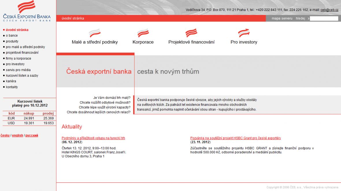 Česká exportní banka