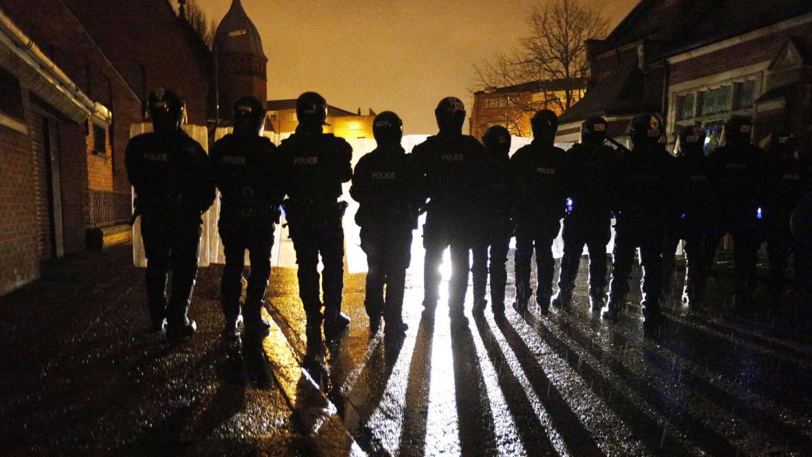 Policie v Belfastu
