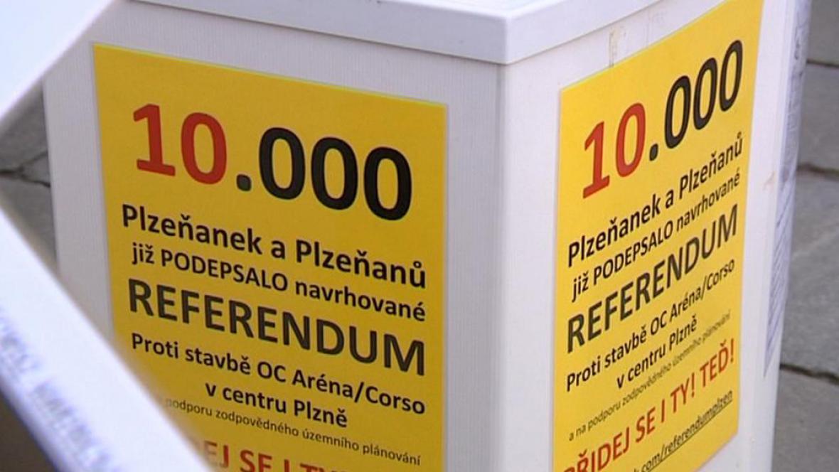 Referendum proti stavbě obchodního centra