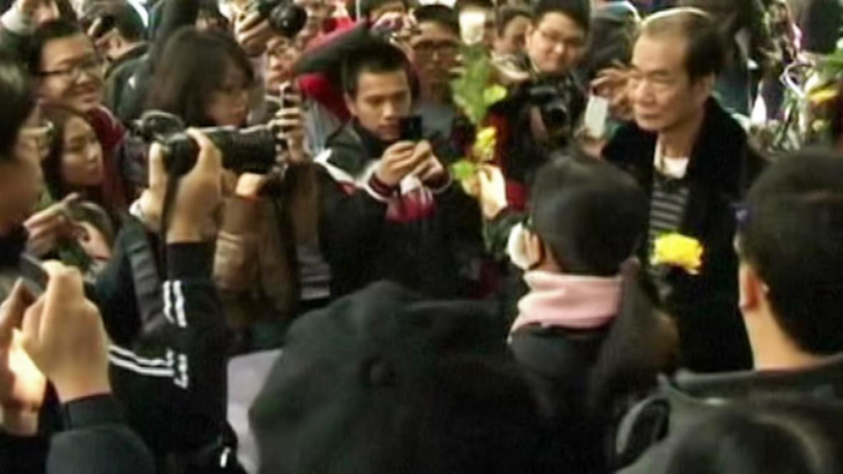 Stávka čínských novinářů