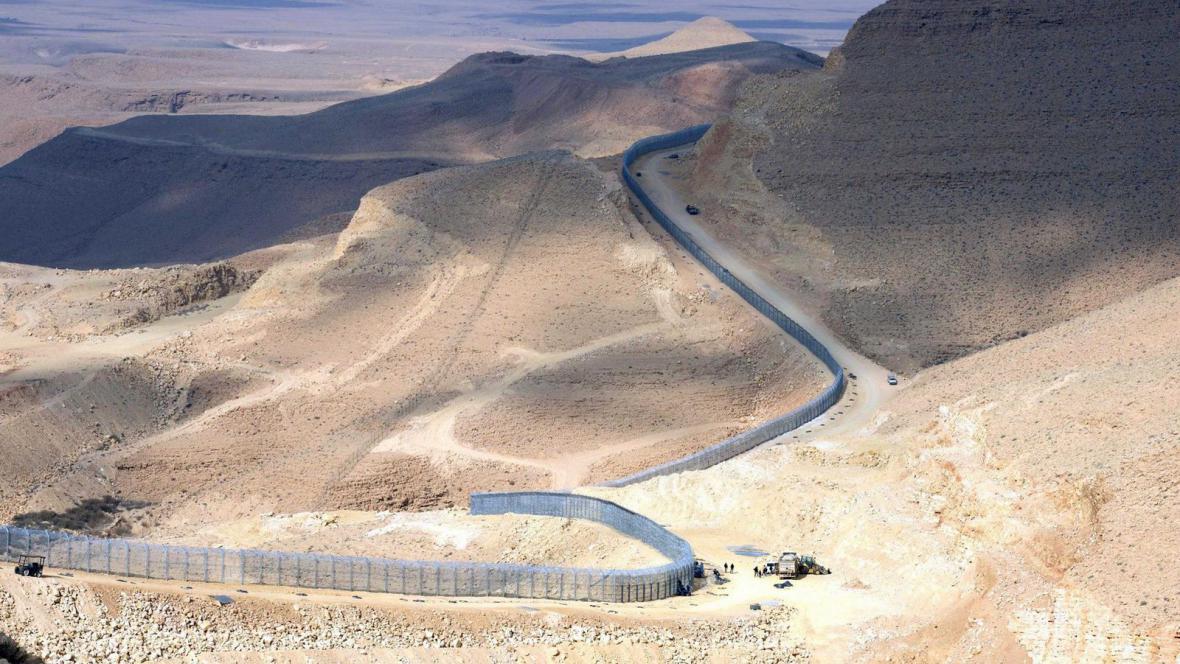 Bariéra na izraelsko-egyptské hranici