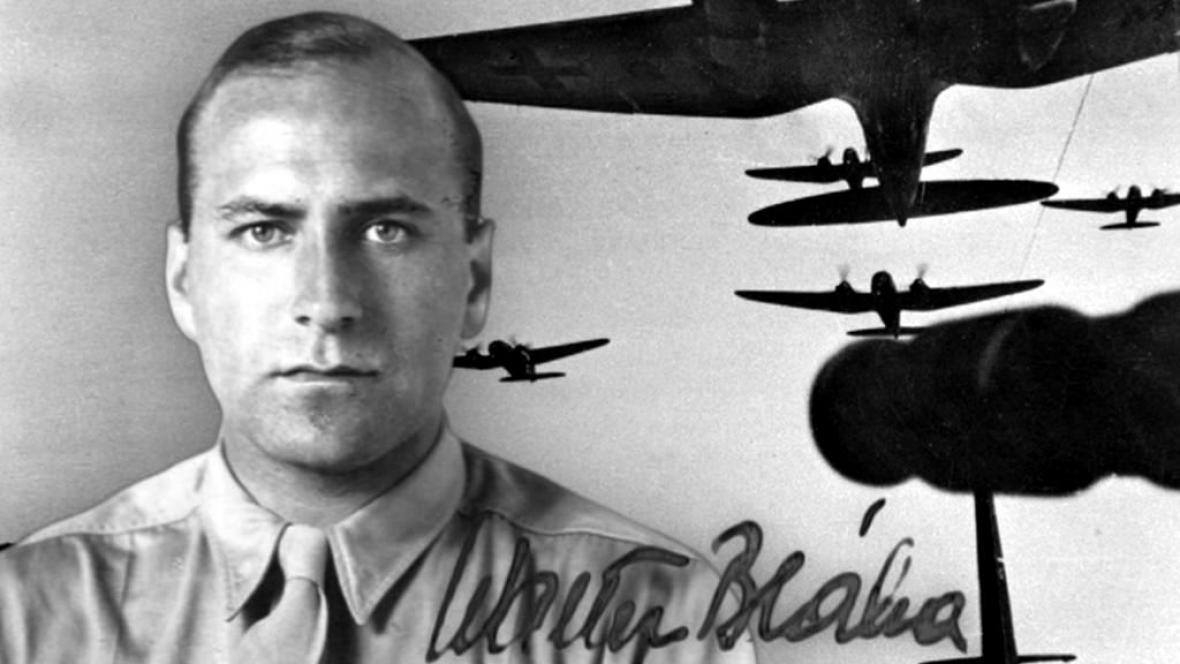 Pilot Walter Bláha