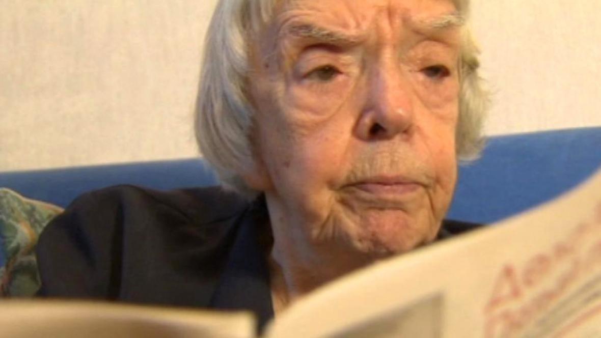 Ruská disidentka Ljudmila Alexejevová