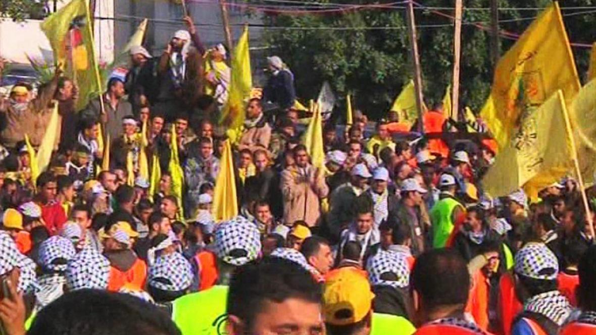Oslavy 48. výročí založení hnutí Fatah