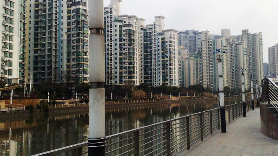 Čínské nábřeží Souzhou Creek