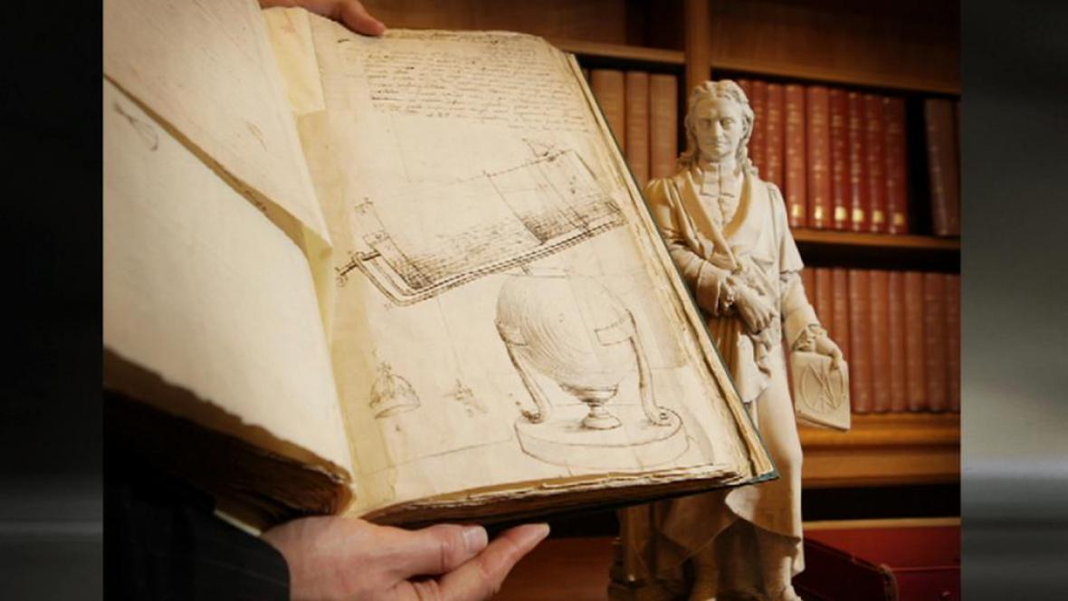 Isaac Newton / záznamy