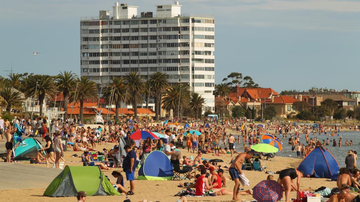 Austrálii zasáhla vlna veder