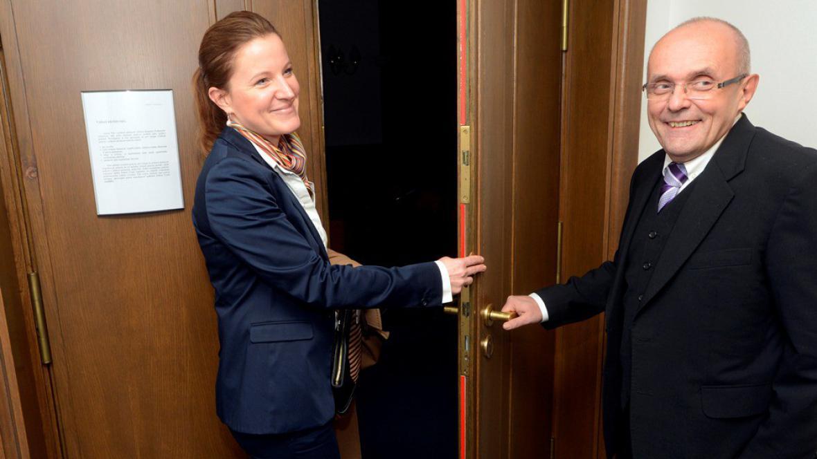 Karolína Peake a Kamil Jankovský