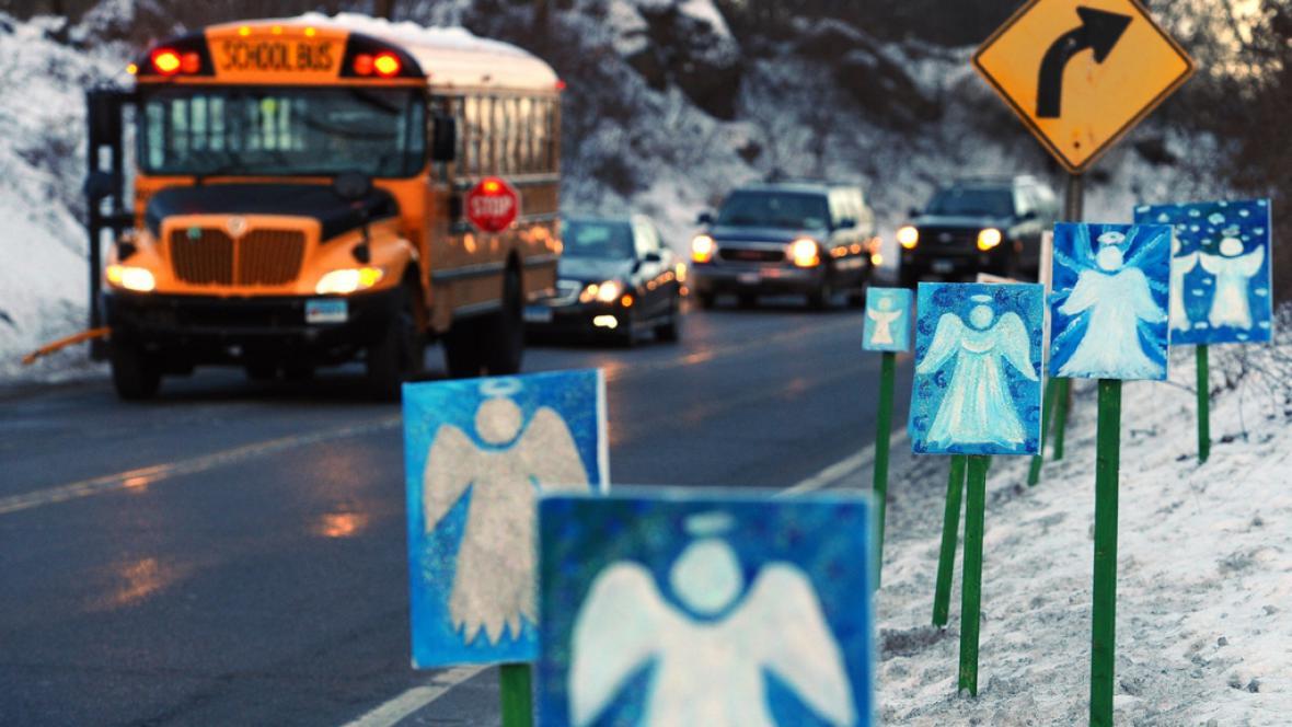 Děti z Newtownu míří do nové školy