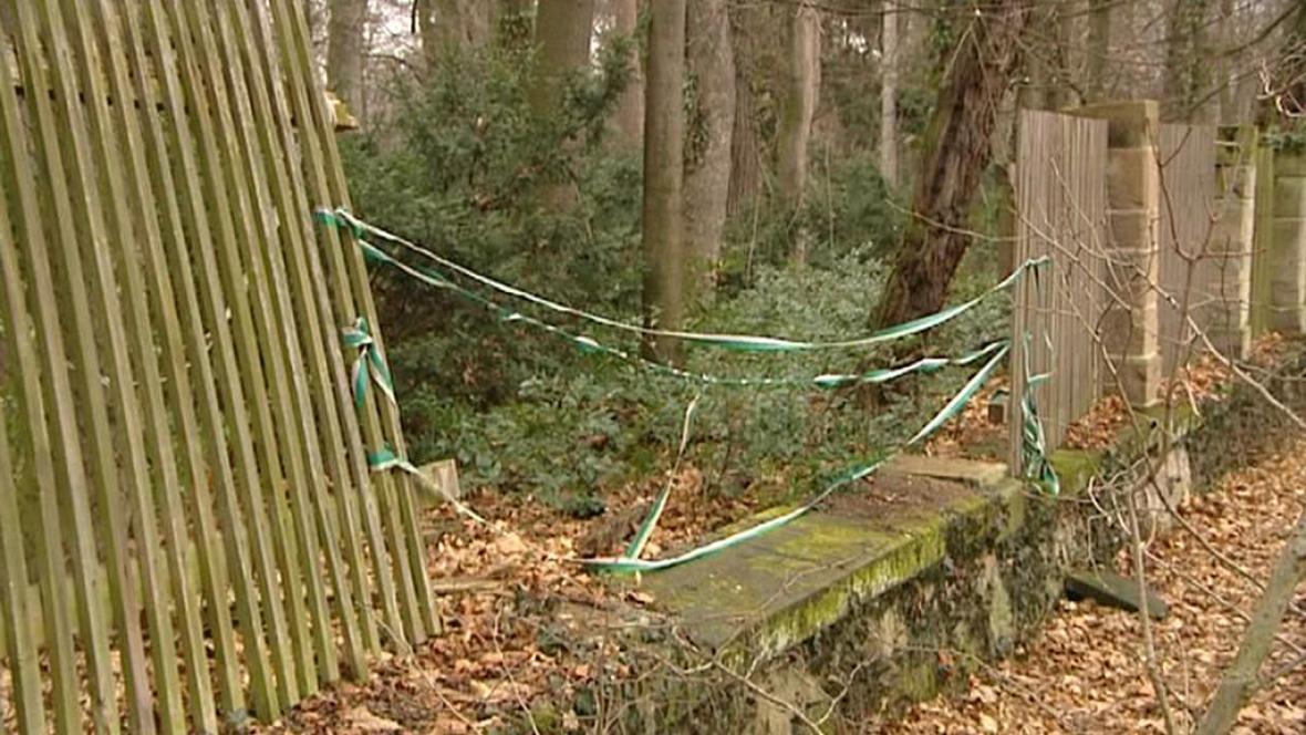 Poškozený plot