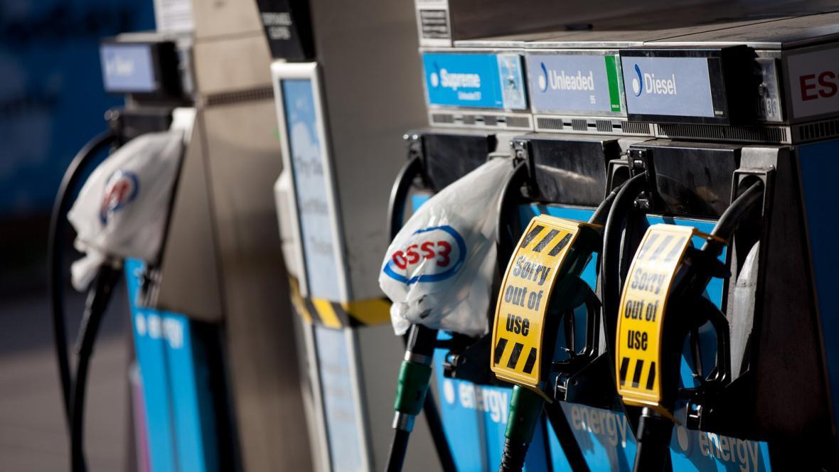 Nedostatek benzinu