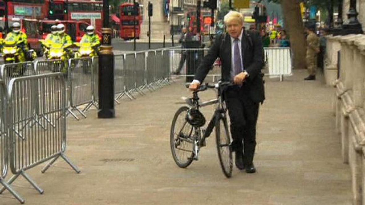 Londýnský starosta Boris Johnson