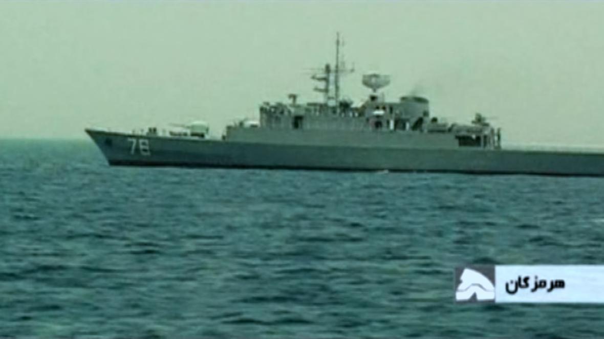 Íránské námořní vojenské cvičení