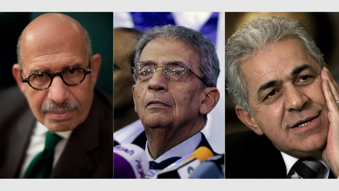 Předáci egyptské opozice