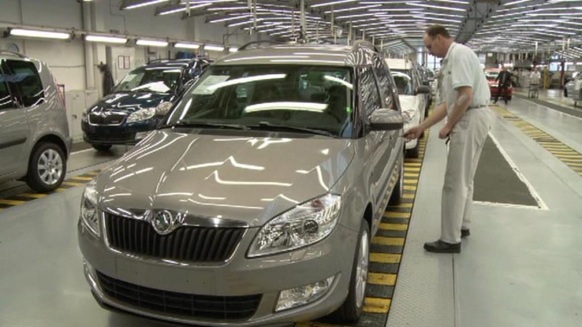 Výroba aut ve Vrchlabí