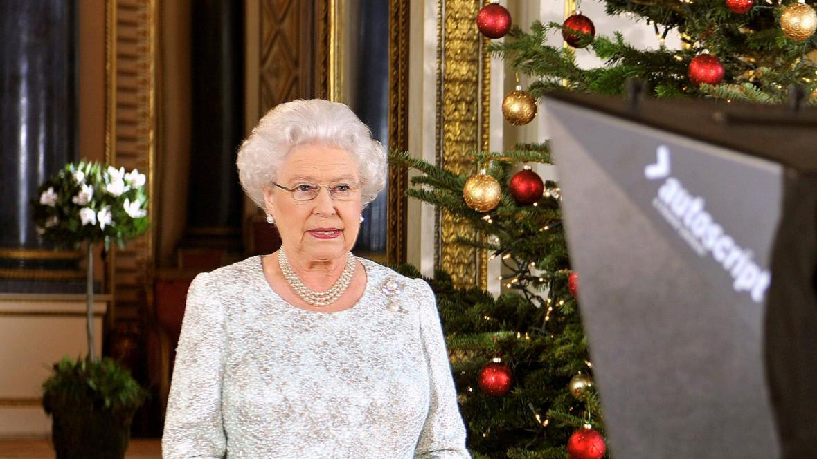 Vánoční poselství Alžběty II.