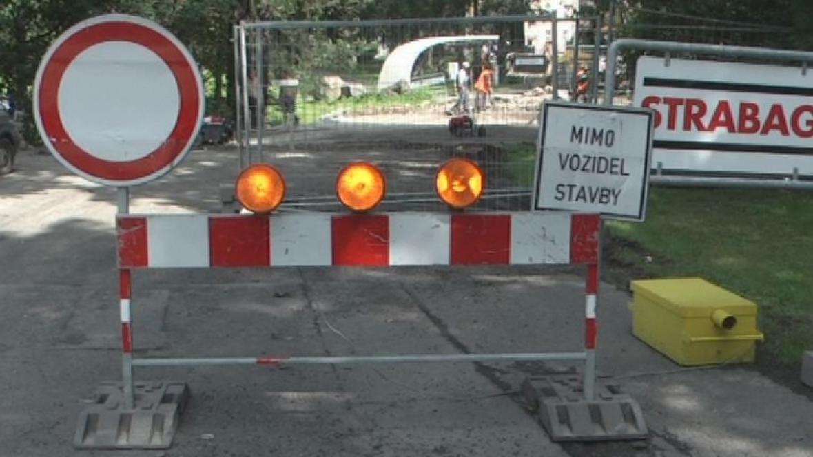 Rekonstrukce mostu v Bruntále