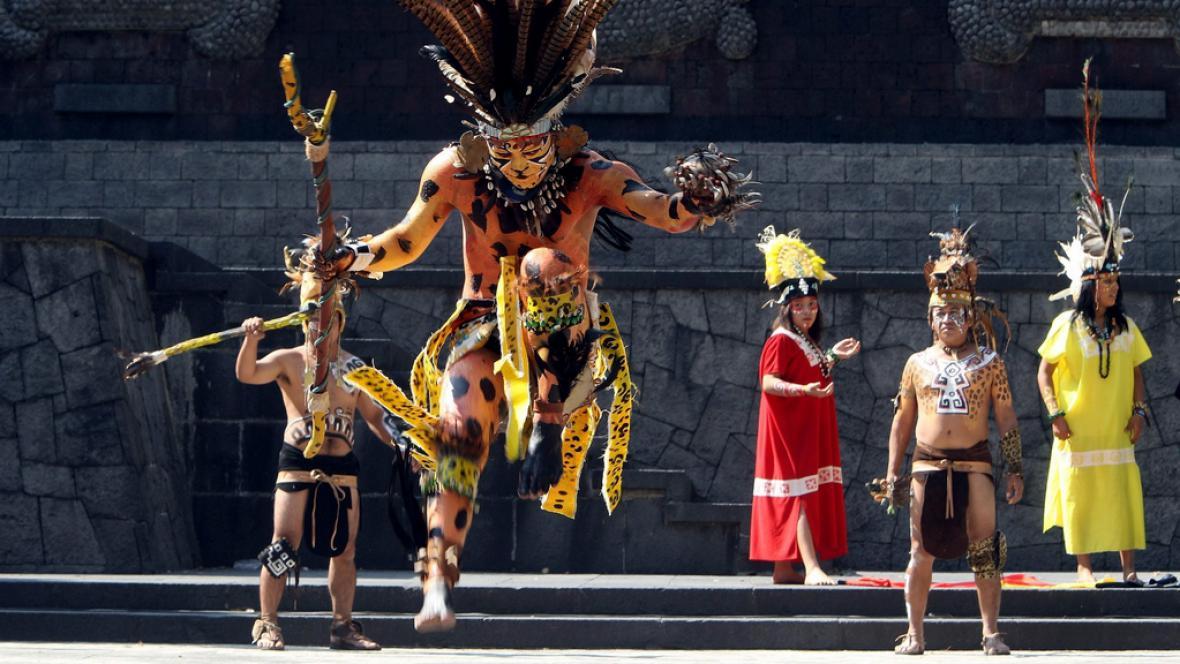 Mayské rituální oslavy