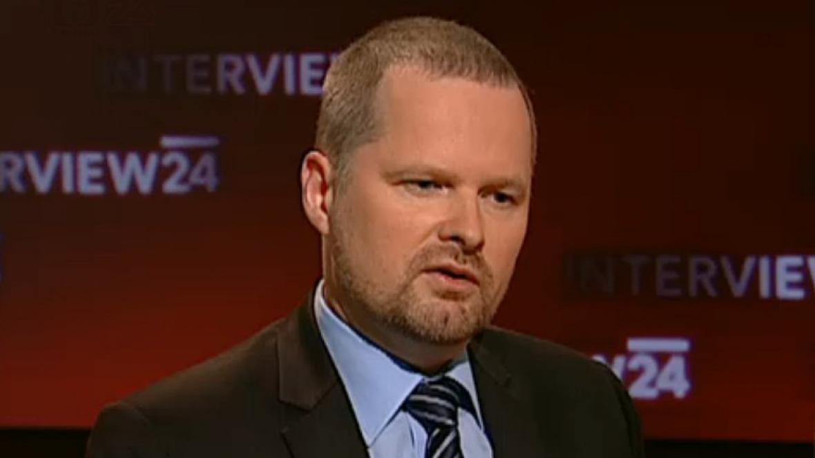 Ministr školství Petr Fiala (nestr.)