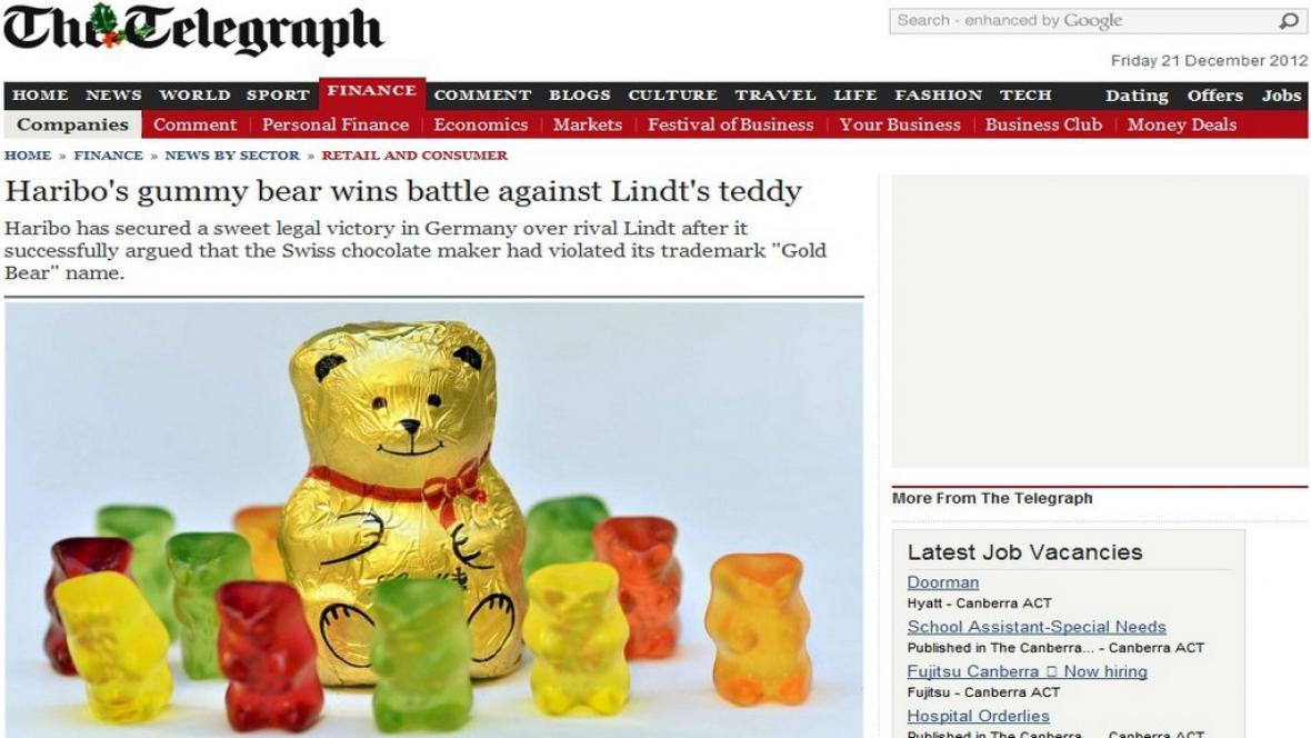 Souboj Hariba a Lindtu o medvědy