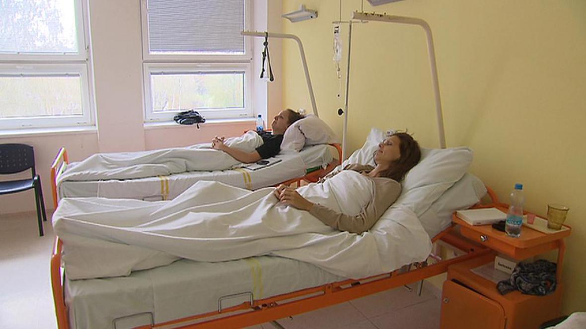 Lůžkové oddělení příbramské nemocnice