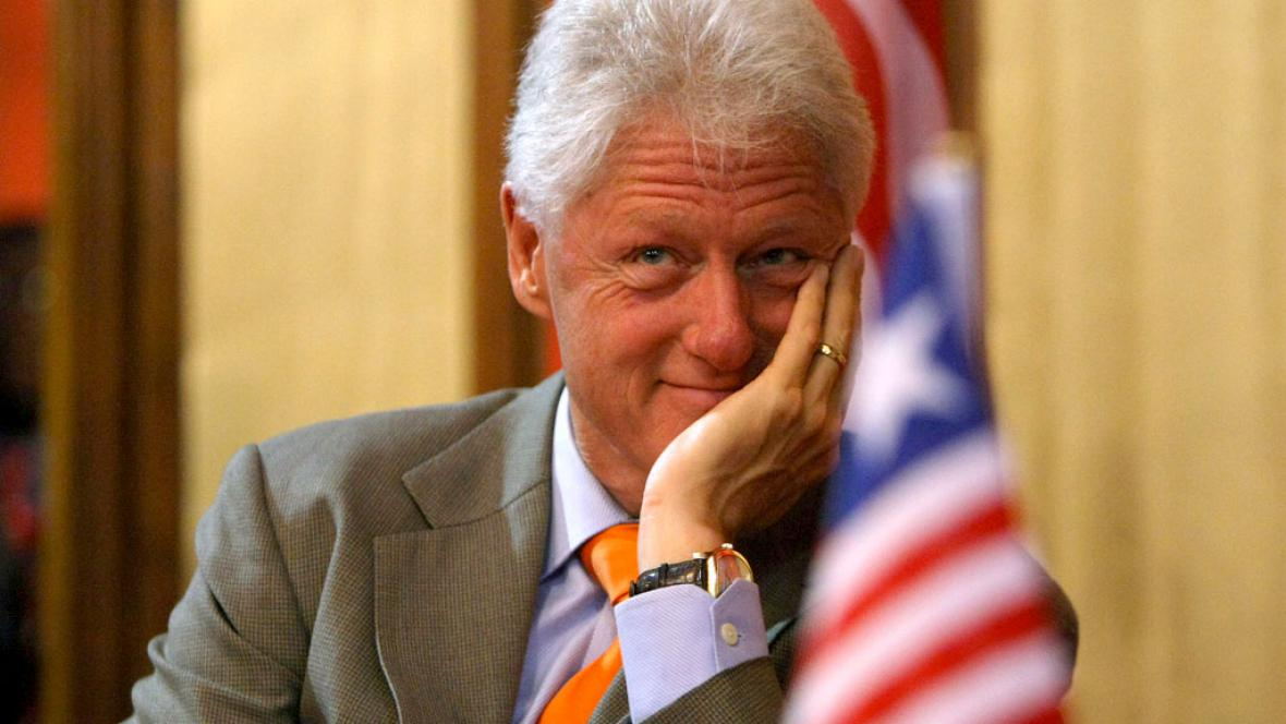 Bill Clinton, bývalý prezident USA