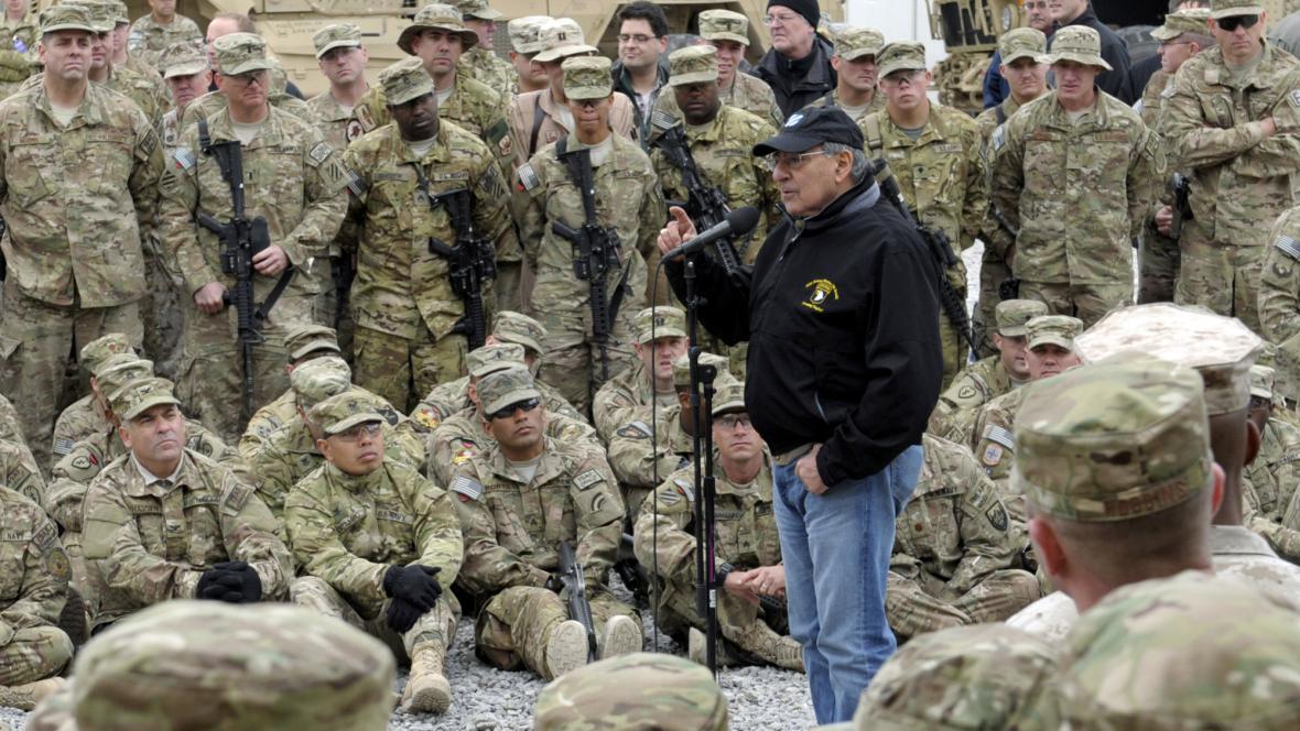Leon Panetta v Afghánistánu