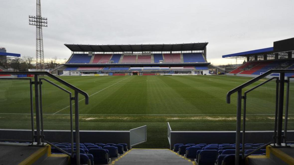 Rekonstruovaný stadion Viktorie Plzeň