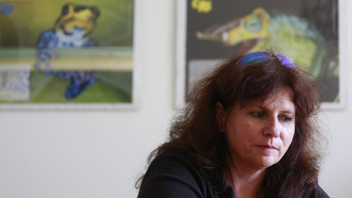 Bývalá ředitelka Zoo ve Dvoře Králové Dana Holečková
