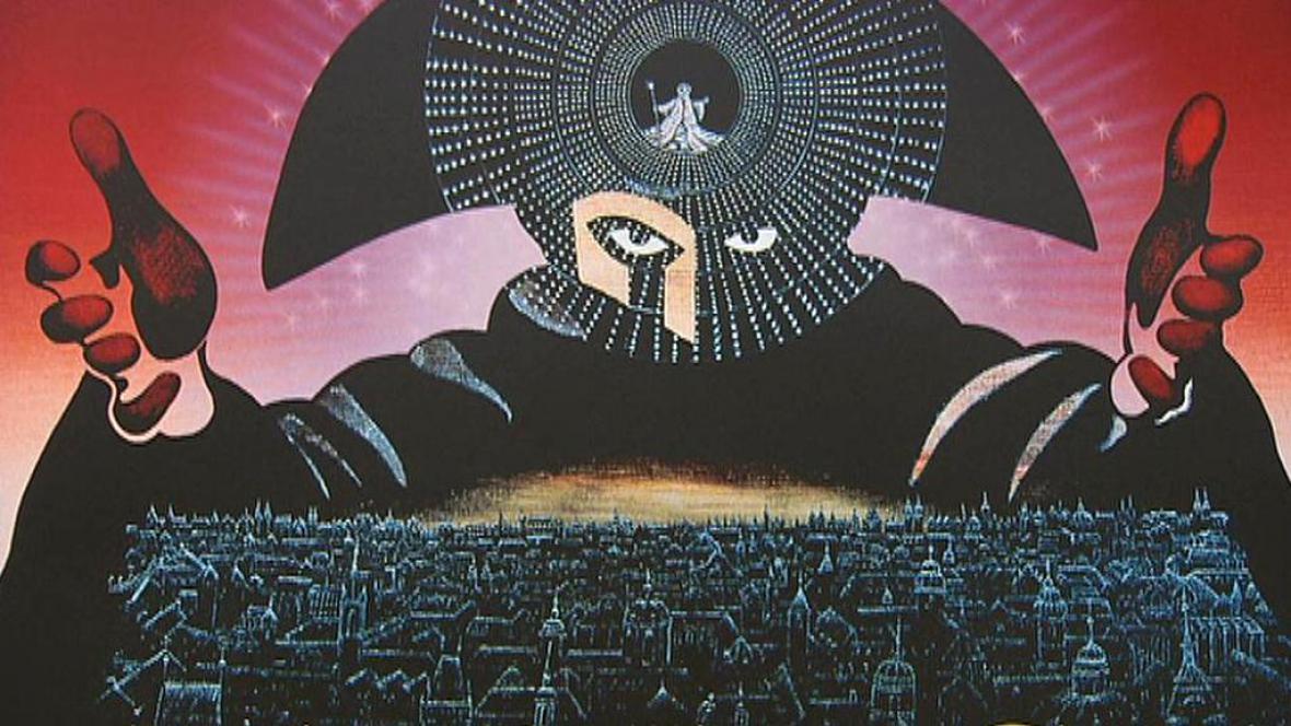 Petr Sís / Plakát k filmu Amadeus