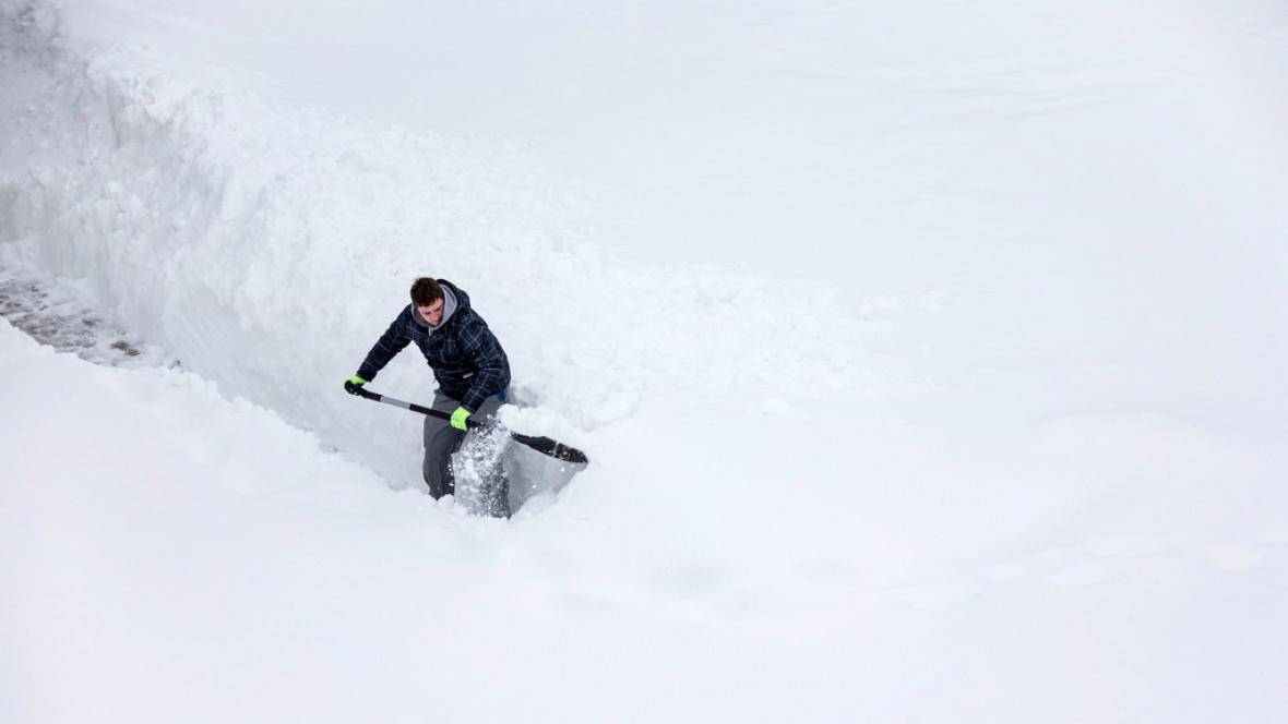 Německo zasypal sníh