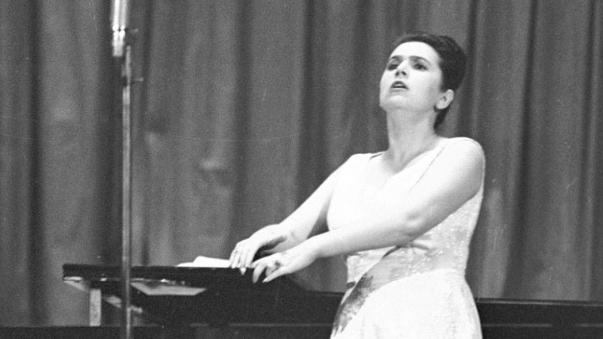 Galina Višněvská na Pražském jaru 1965