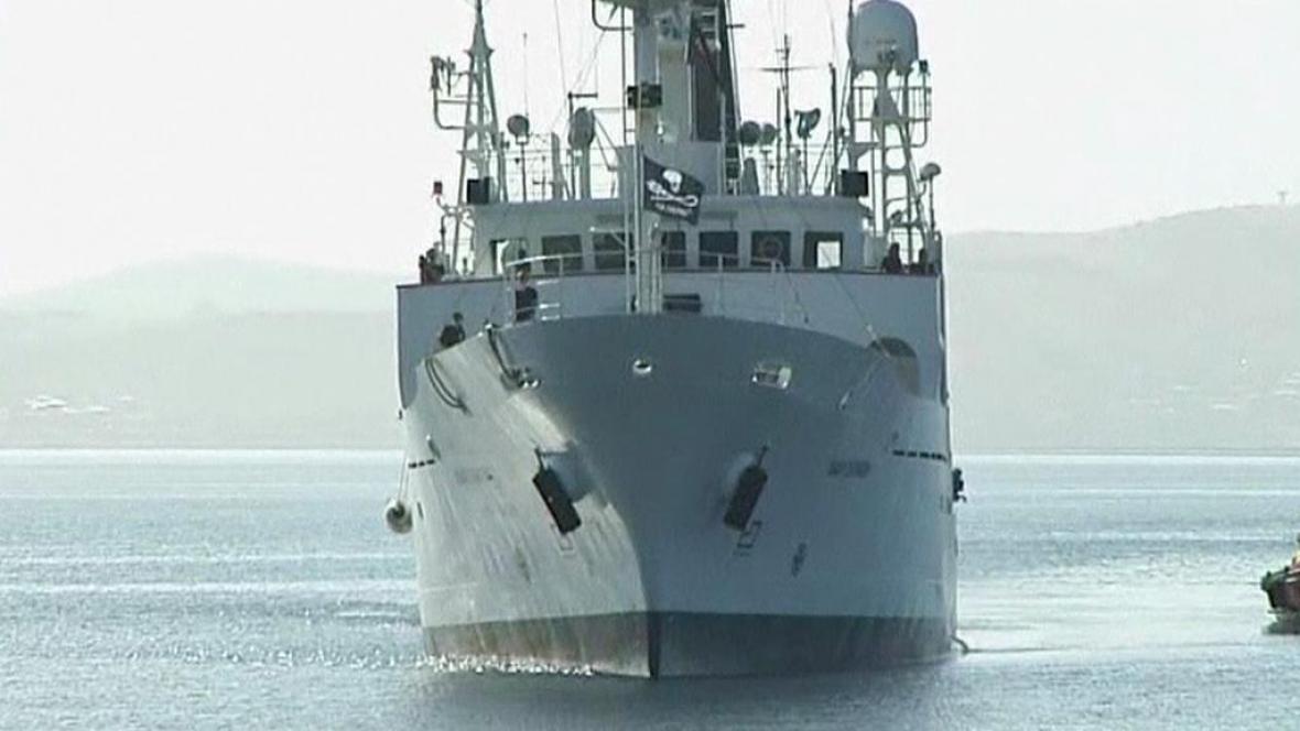 Nová loď organizace Sea Shepherd