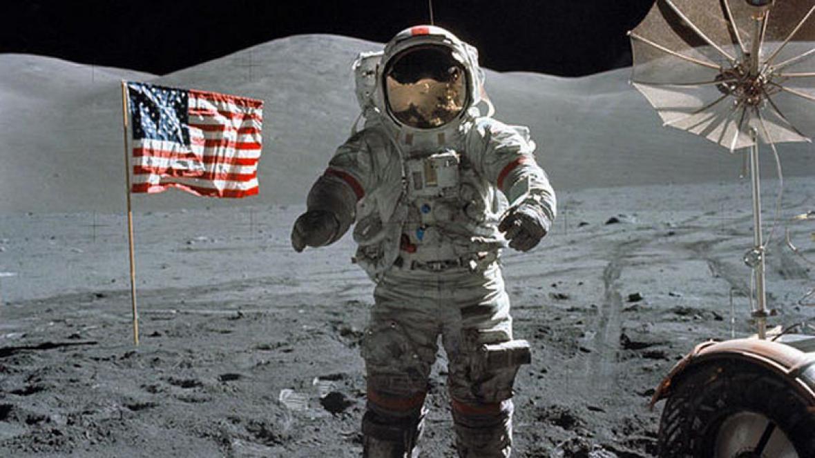 Člověk na Měsíci