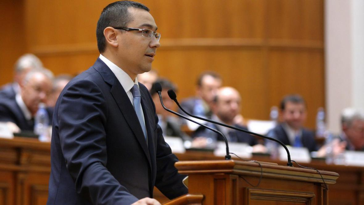 Rumunský premiér Victor Ponta
