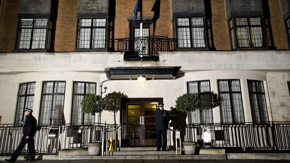 Nemocnice Krále Edwarda VII., kde byla hospitalizovaná vévodkyně Kate