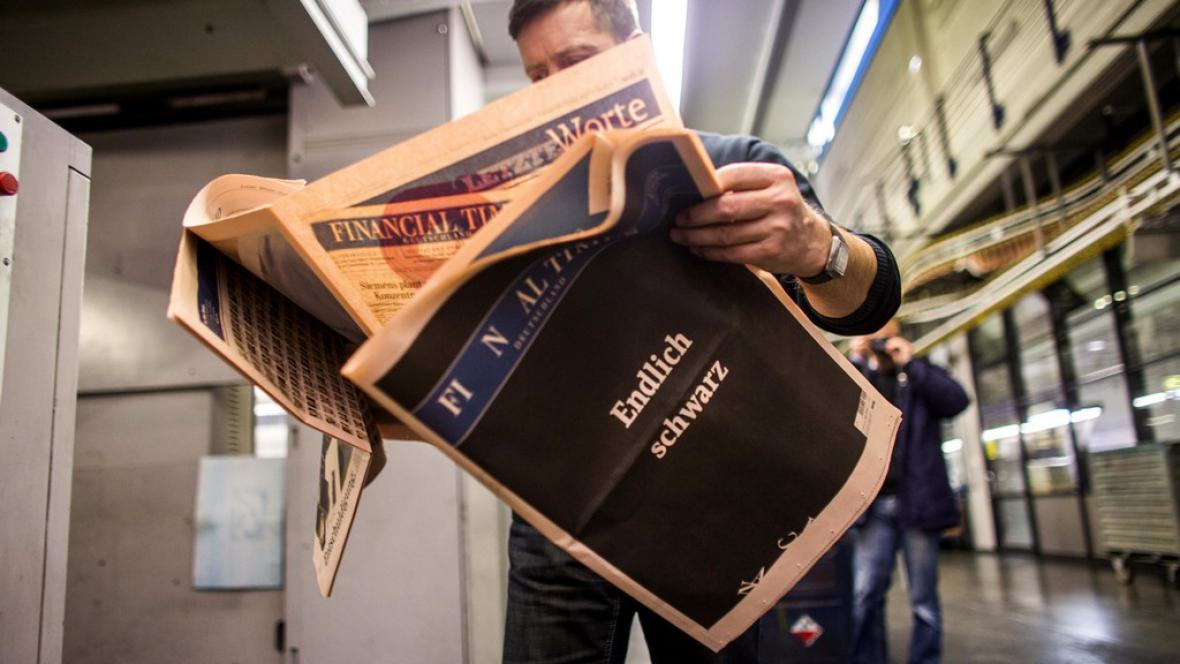 Financial Times Deutschland končí