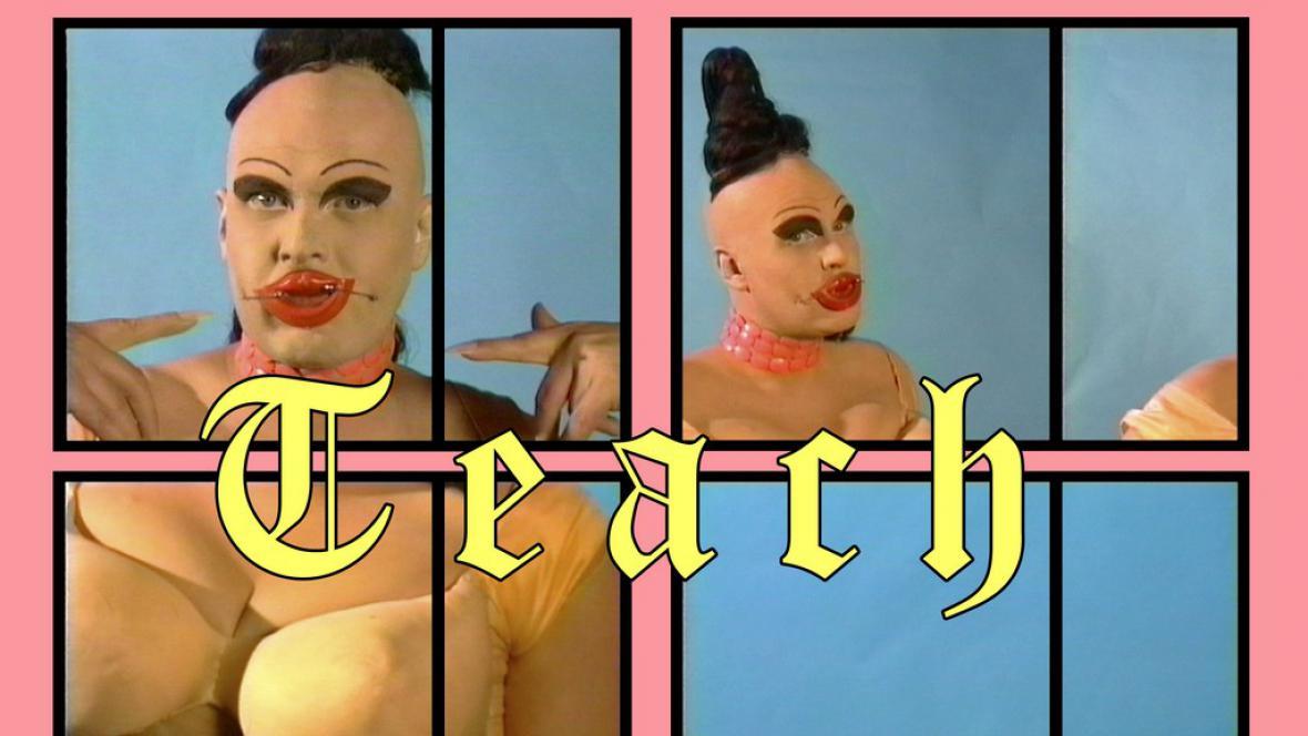 Charles Atlas / Teach, 1992–98, Video-Still