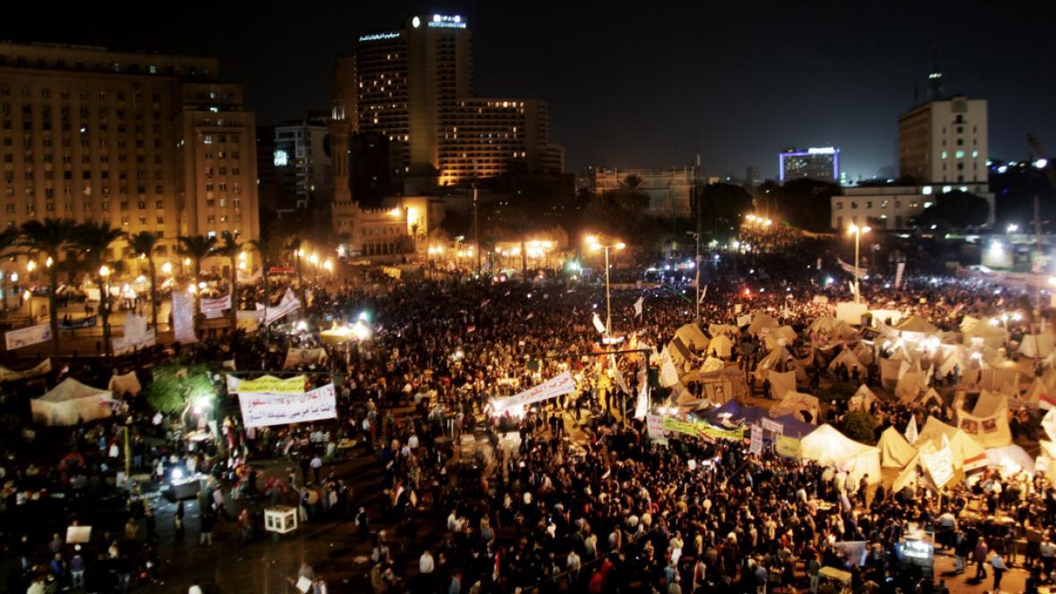 Protesty v Káhiře