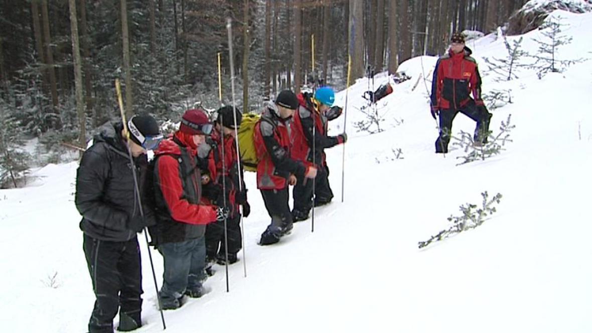 Školení dobrovolníků horské služby
