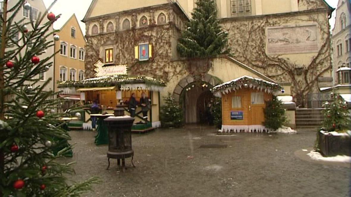 Vánoční trhy ve Weidenu