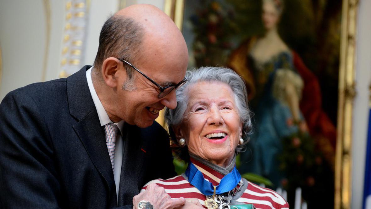 Pierre Lévy a Meda Mládková