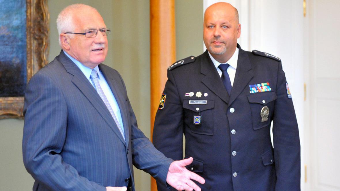 Václav Klaus a Petr Lessy