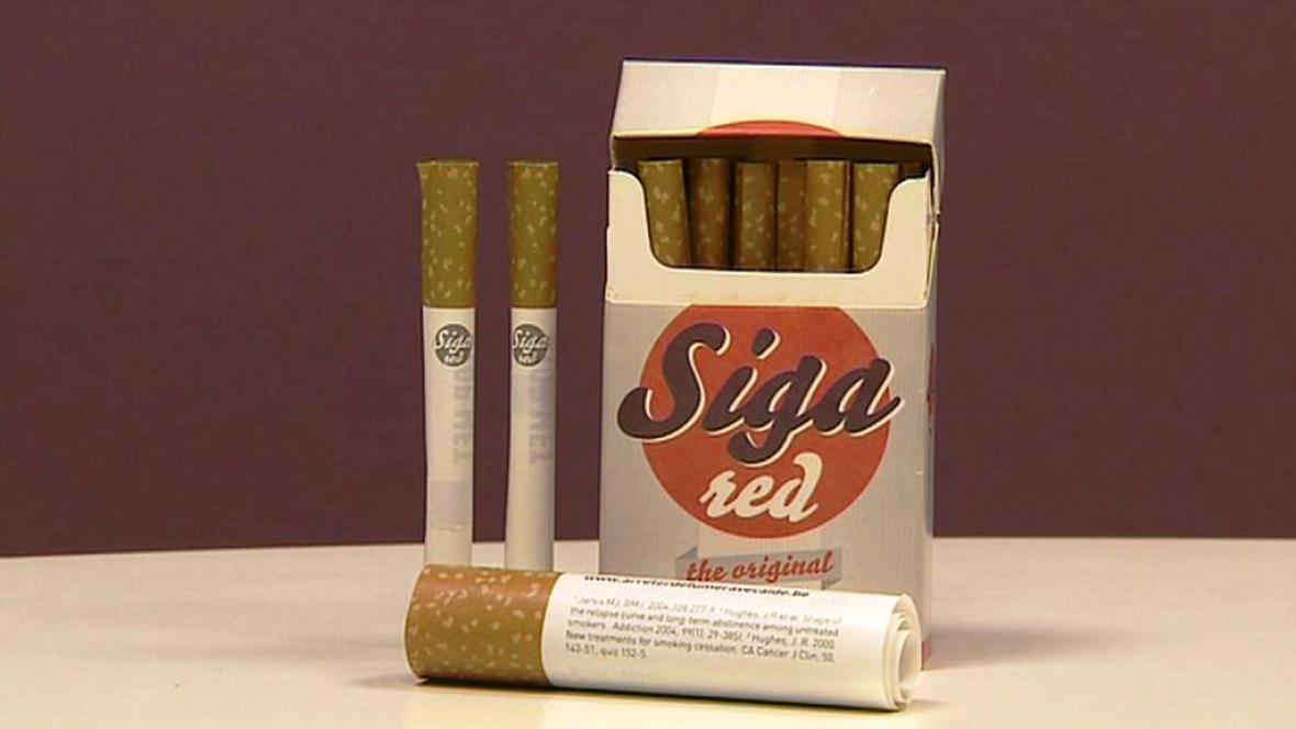 Speciální cigaretová krabička