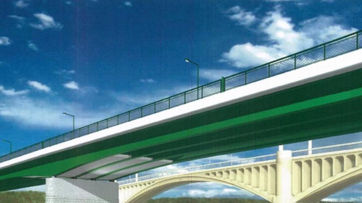Nový most v Jateční