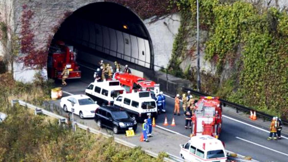 Tragédie v japonském tunelu