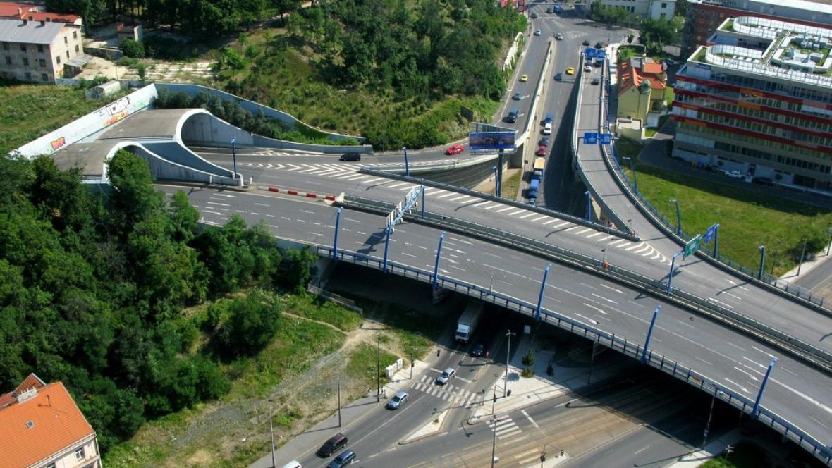 Ústí Strahovského tunelu