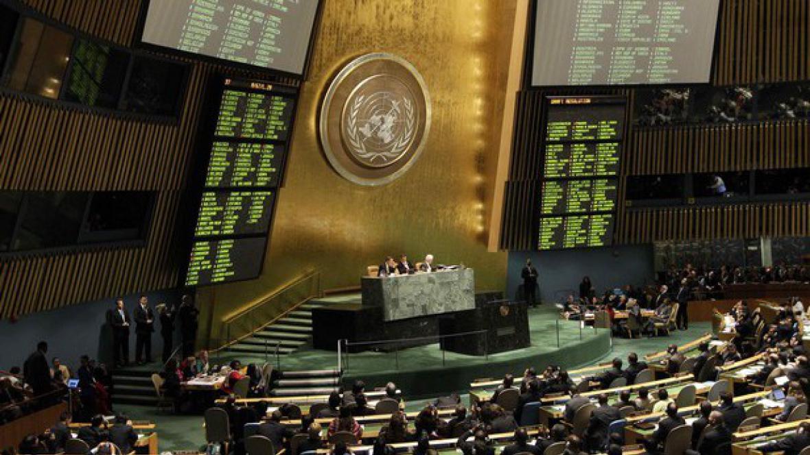 Hlasování OSN